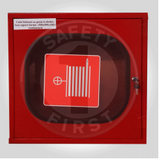 Cutie hidrant cu geam și cheder fără suport furtun 500X500X150 mm