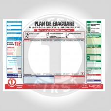 Plan de evacuare