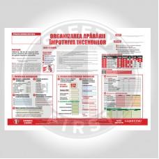 Plan de organizare a apărării împotriva incendiilor